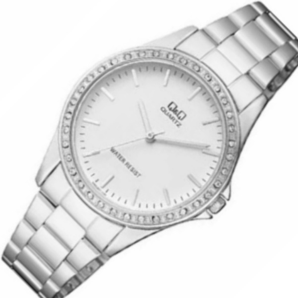 f9e1f0457e29 Reloj Para Dama Q q Modelo Q987j201y Pulso Acerado Original ...