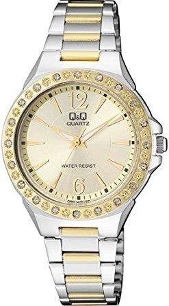 cd0a3f14a520 Reloj Para Dama Q q Modelo Q987j400y Pulso Acerado Original ...