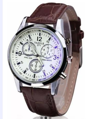 reloj para hombre caballero elegante moderno yazole