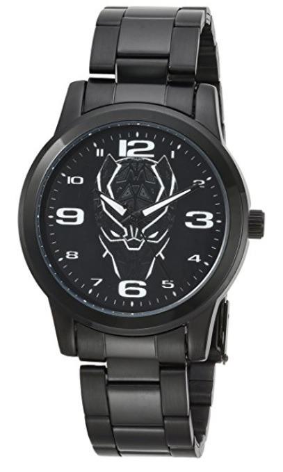 Para Pantera Reloj Caballero Negra Marvel Black Hombre tQhdBsCxr