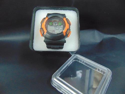 reloj para hombre con luz al interno de la luna cronometro**
