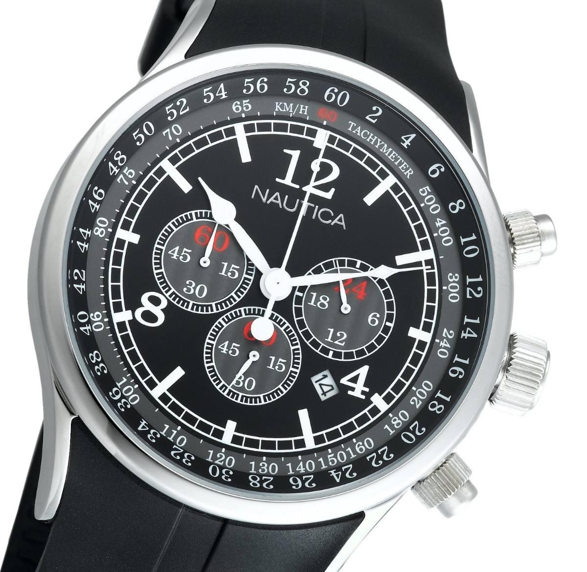 Reloj Para Hombre Nautica Men S N13530g Nsr 01 Vbf