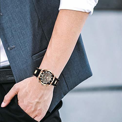 reloj para hombre, reloj de cuarzo analógico stone reloj de