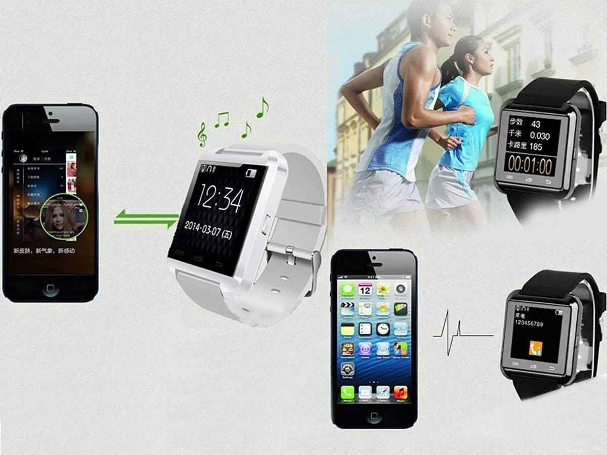 6181d3f2b7f1 Reloj Para Hombre Smart Watch Monitor De Actividad Android B