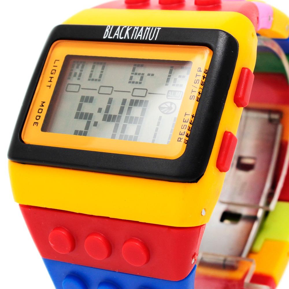 454ae806b0df Reloj Para Joven Niño Niña Bloque Ajustable Marca Shhors -   119.00 ...