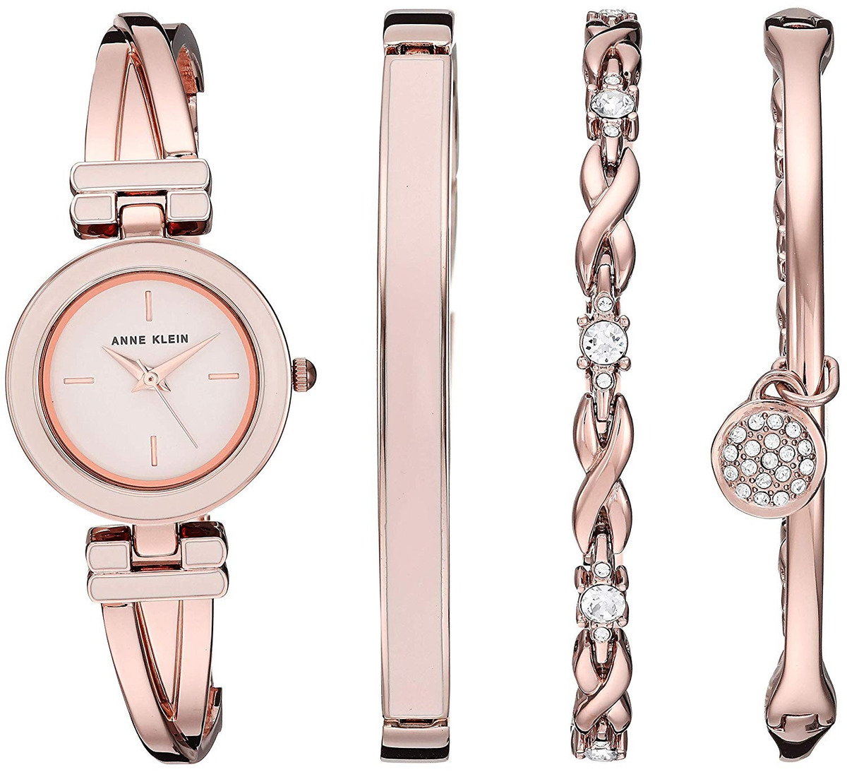 cf323b90486d Reloj Para Mujer Anne Klein Bangle Brazalete Y Malla -   426.900 en ...