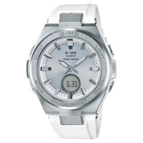 Baby Para Ms Blanco Reloj Mujer G Msgs2 Plateado Casio Y RLq54Aj3