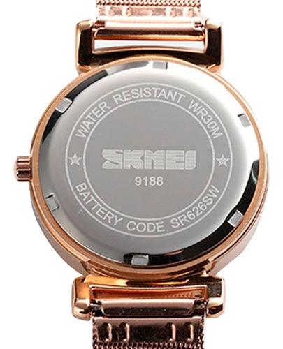 reloj para mujer elegante, original y estilo - resistente