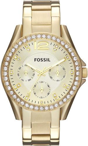 reloj para mujer fossil es3204 riley -