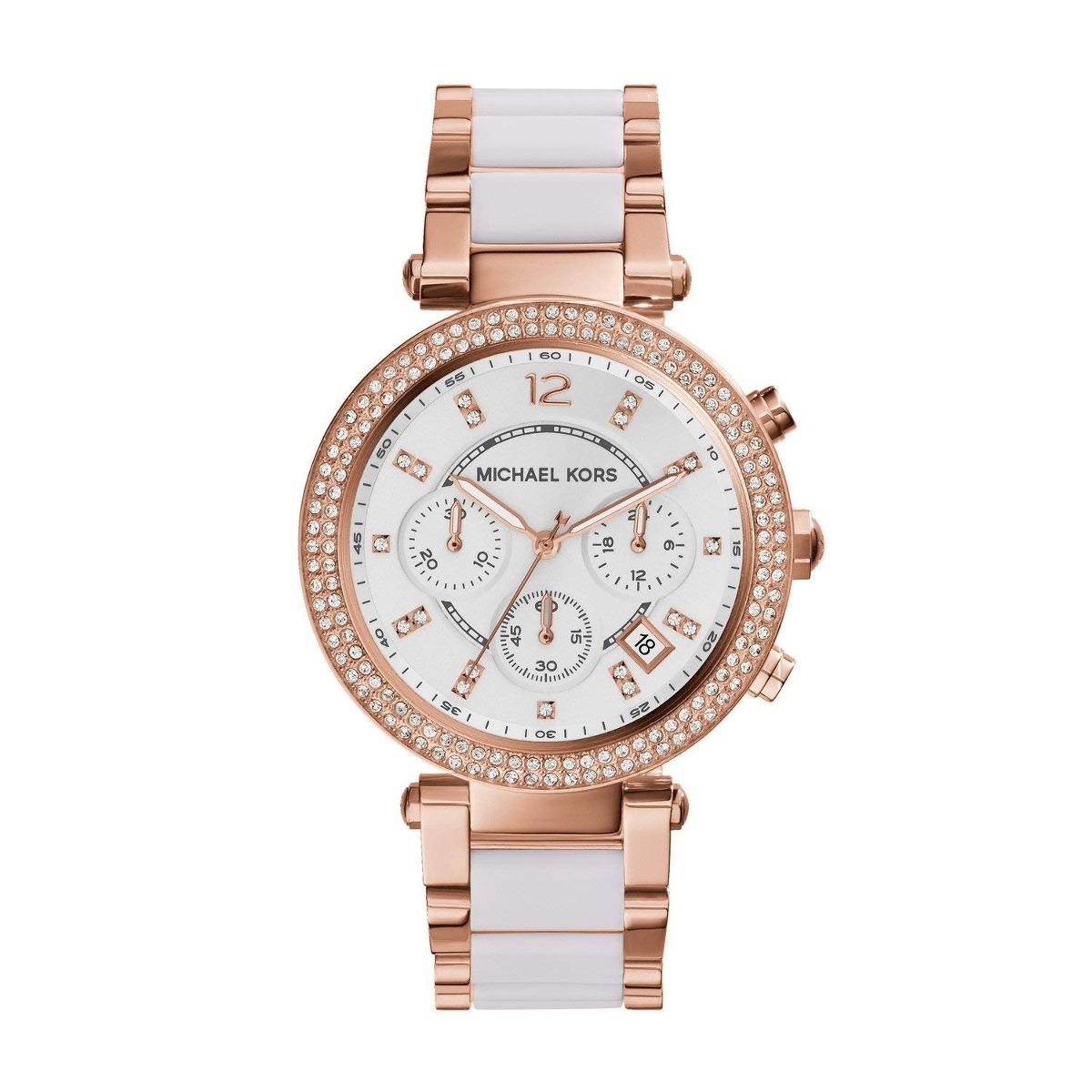 7a655635363f Reloj Para Mujer Michael Kors Parker Color Oro Rosado -   570.900 en ...