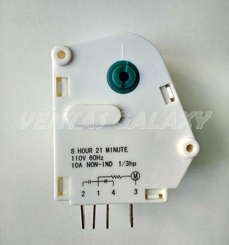 reloj para nevera temporizador 110v 6hr 21min 8hr 21min