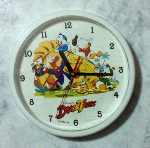 reloj para niños - ducktales de disney pixar