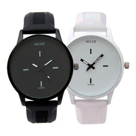 Reloj Para Parejas Miller X 2 Unidades Reloj Deportivo