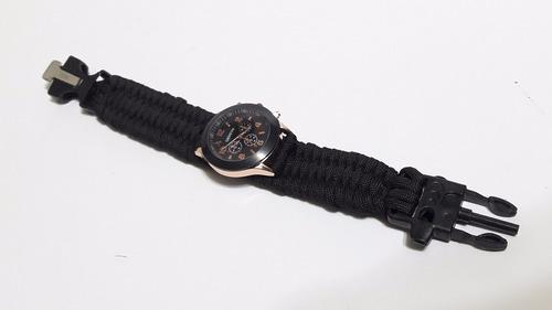 reloj paracord geneva supervivencia importado
