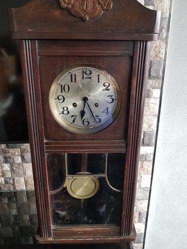 reloj pared antiguo(más de 70 años)