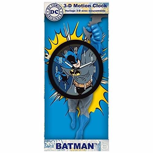 reloj pared moderno batman 3d decorativo importado movimient