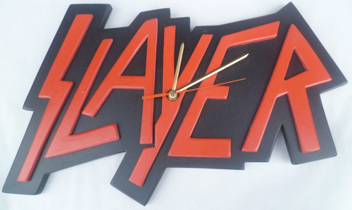 reloj pared slayer harley clasico en madera