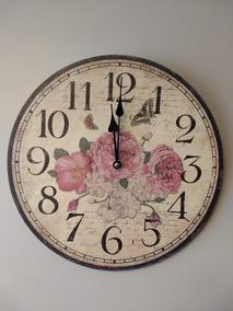 7125d3ded6ef Reloj De Pared en Mercado Libre Chile