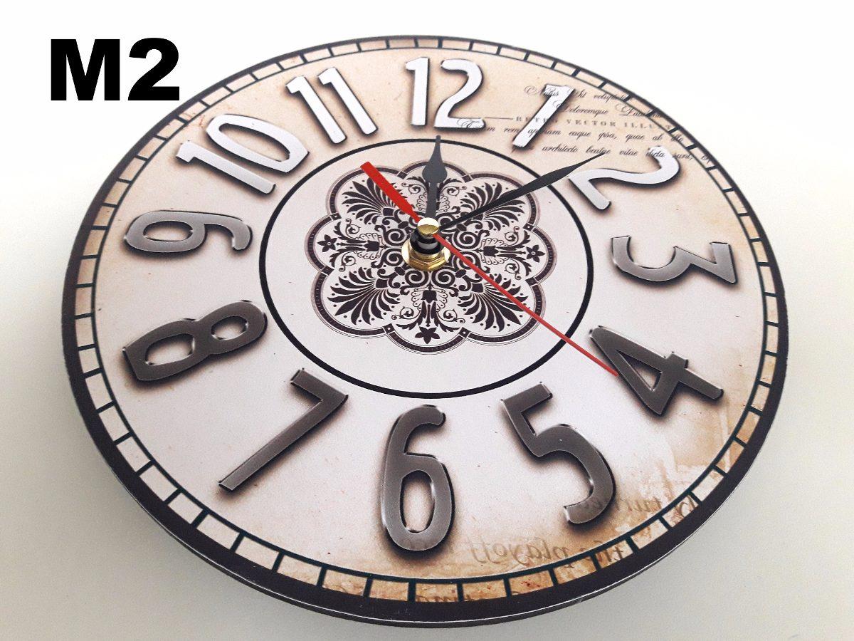 Reloj Pared Vintage Varios Modelos Disponibles Ideal Regalo  ~ Relojes Grandes De Pared Vintage