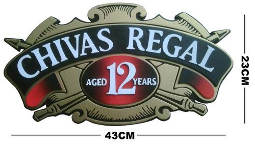 reloj pared  whisky chivas regal