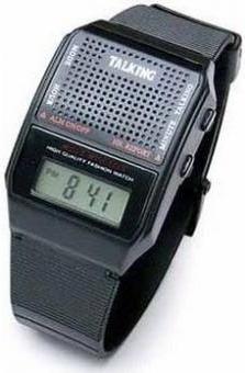 reloj parlante ideal para invidentes, niños, adultos mayores