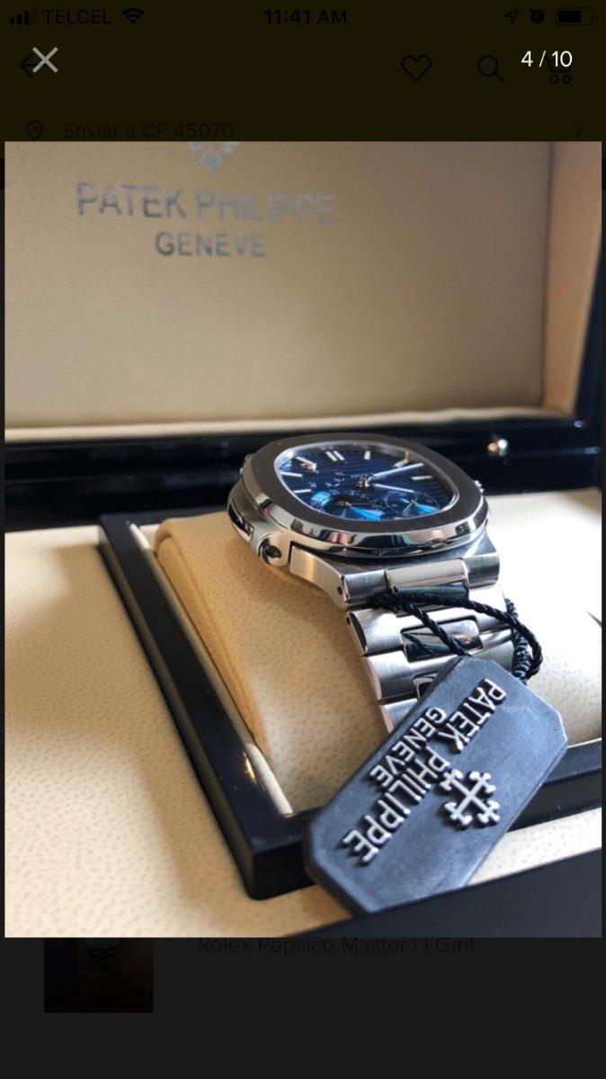 837901999a7 Reloj Patek Philippe Nautilus 5712/1a - $ 7,500.00 en Mercado Libre