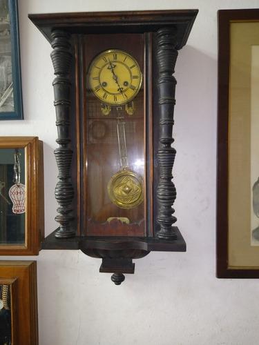 reloj péndulo junghans año1900