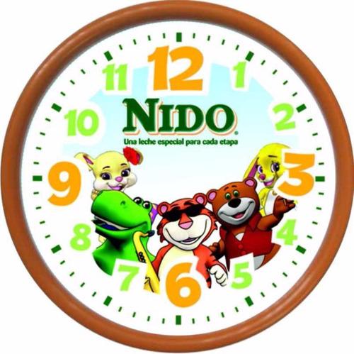 reloj personalizado impresion full color