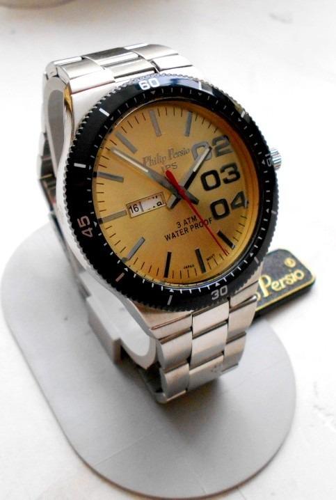 ffafcc1abe87 Reloj Philip Persio Modelo Diesel Caballero Contra Agua -   510.00 ...