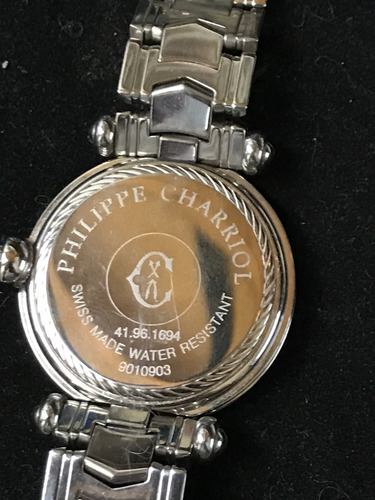 reloj phillippe charriol cartier 100% original water resista