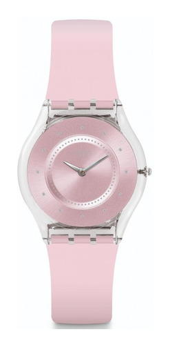 reloj pink pastel rosado swatch