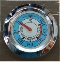 reloj pirometro medidor temperatura de hornos de barro