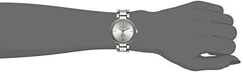 230e51c7af95 Reloj Plateado Esfera De Diamantes Para Mujer De Anne Klein ...