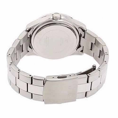 reloj plateado guess - mujer