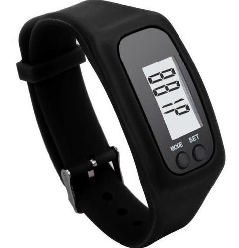 reloj podometro  digital cuenta calorias y pasos