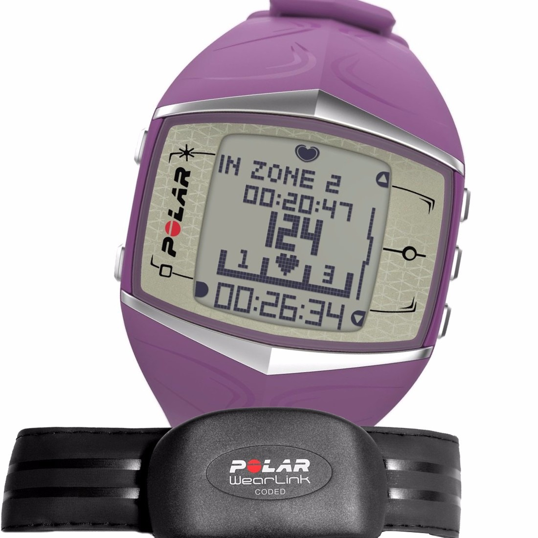 acf3680d44e1 Reloj Polar Ft60f Mujer Graficos 99 Memorias Agente Oficial ...