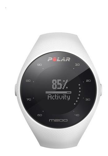 reloj polar m200 blanco - monitor de frecuencia cardiaca