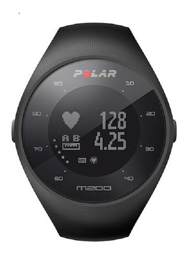 reloj polar m200 negro - monitor de frecuencia cardiaca