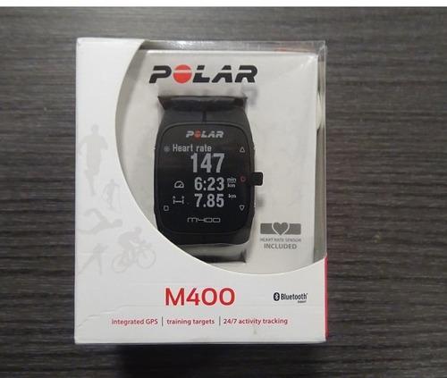 reloj polar m400 + banda pulsometro h7. entrega inmediata.