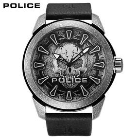 nuevo estilo 84945 5d630 Reloj Police Pl 14637jsqs/57a Hombre Cuero Sum. 50m. +envio