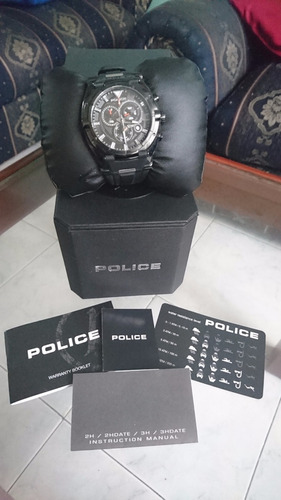 reloj police raptor cronografo negro pl-13092jsb-02a