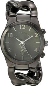 b09fd3679483 Reloj Polo Dama Usc40175 Negro Regalo Perfecto +estuche