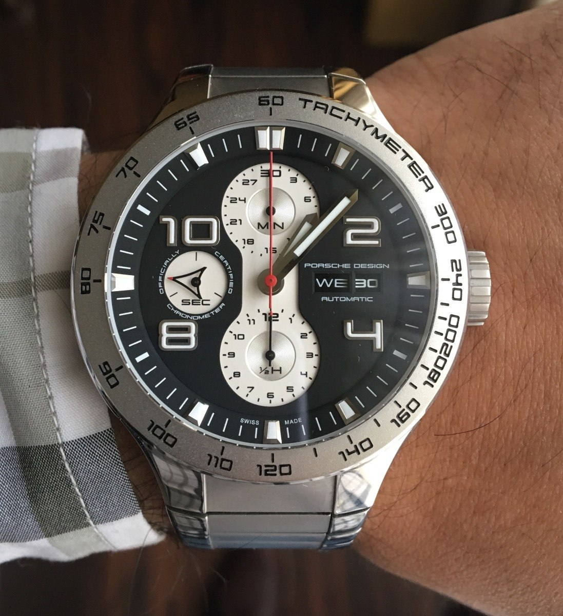 0fc0c5d55b5c reloj porsche design flat six p6340 cronografo automático. Cargando zoom.