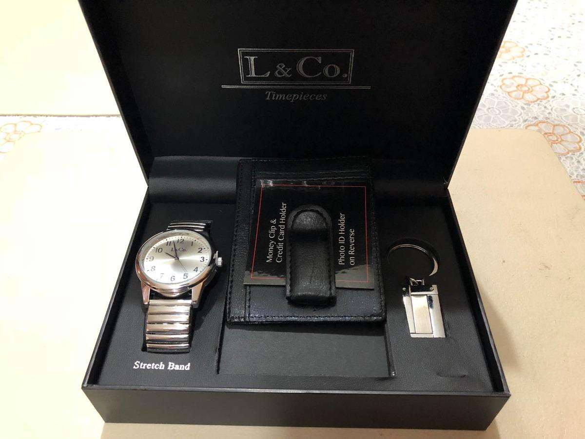 amp;co Timepieces LlaveroMarca L Tarjeta RelojPorta Igbv76Yfym