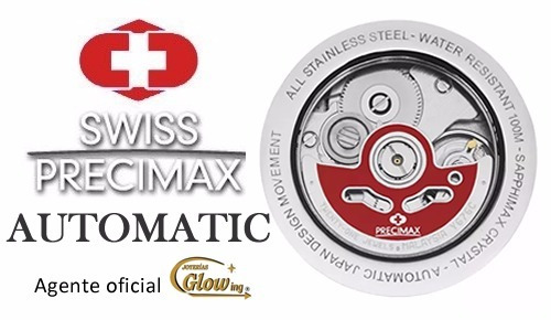 reloj precimax px13205 hombre automático ag. oficial envío