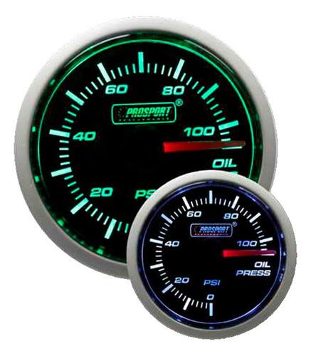 reloj presión de aceite electrónico 52mm bv prosport