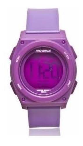 reloj pro space okusai digital sumergible 100m garantía ofic