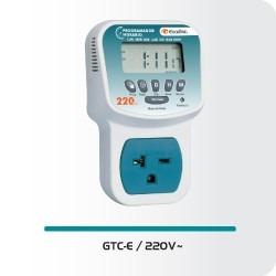 Reloj programador horario exceline 220 v gtc e220 enchufe for Programador electrico digital