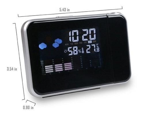 reloj proyector negro alarma-temperatura-fecha envío gratis