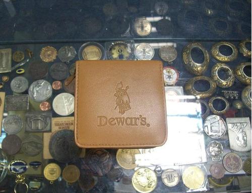 reloj publicidad de  wisky dewar's